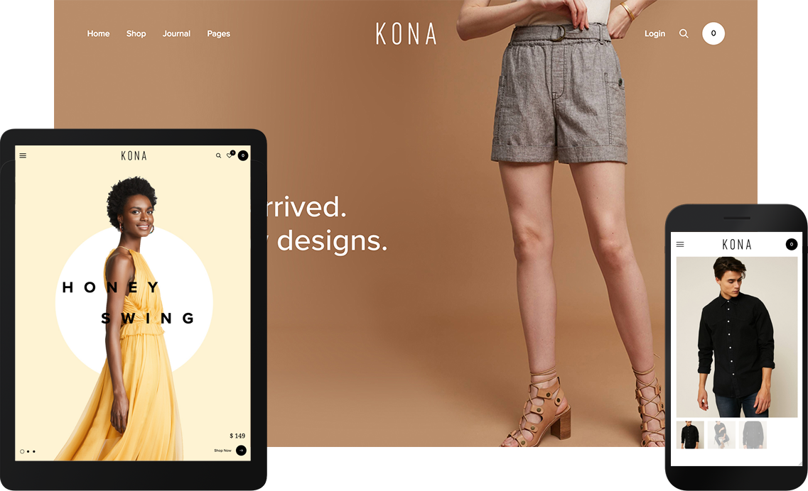 Kona  - WordPress для электронной коммерции