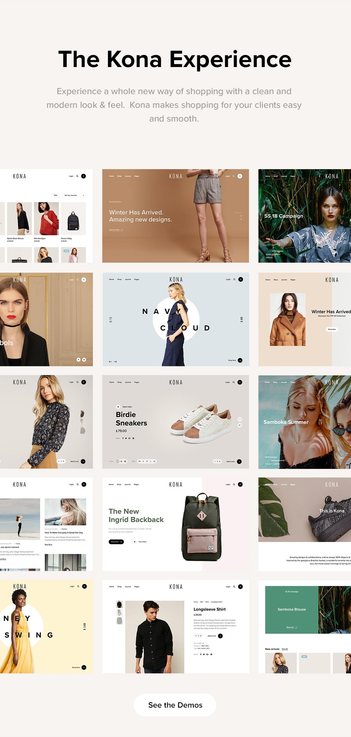 Kona - Modern & Clean eCommerce WordPress Theme - 10