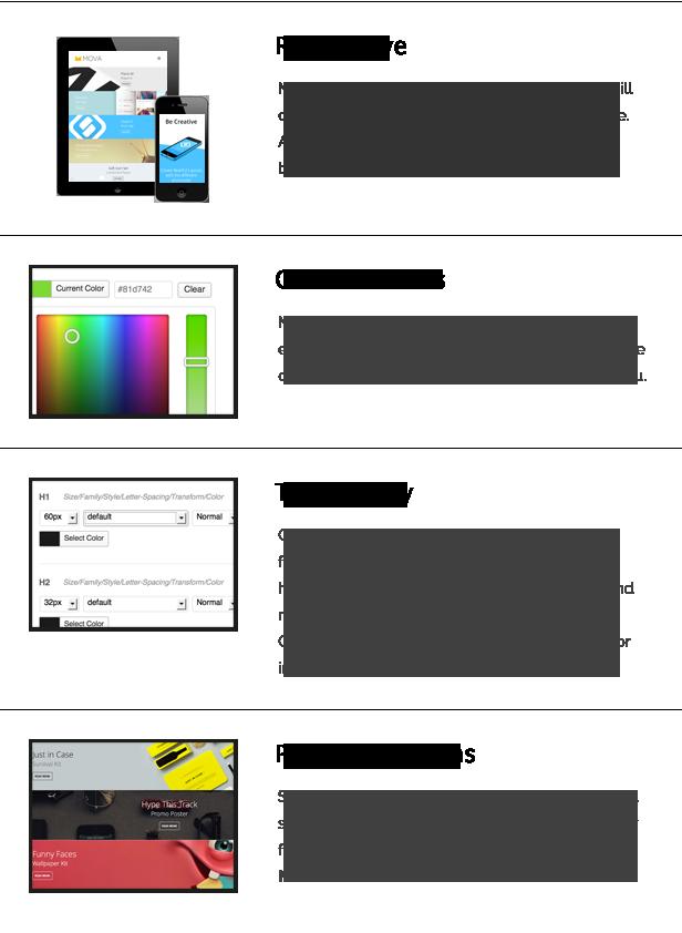 Mova - WordPress Theme for creative minds