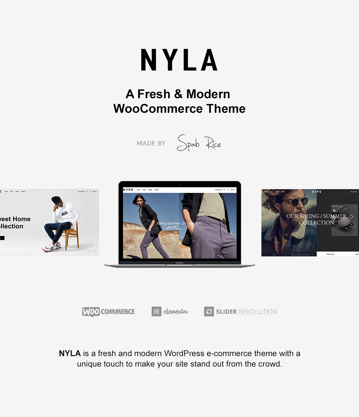 Nyla - A Fresh & Modern WooCommerce Theme - 4