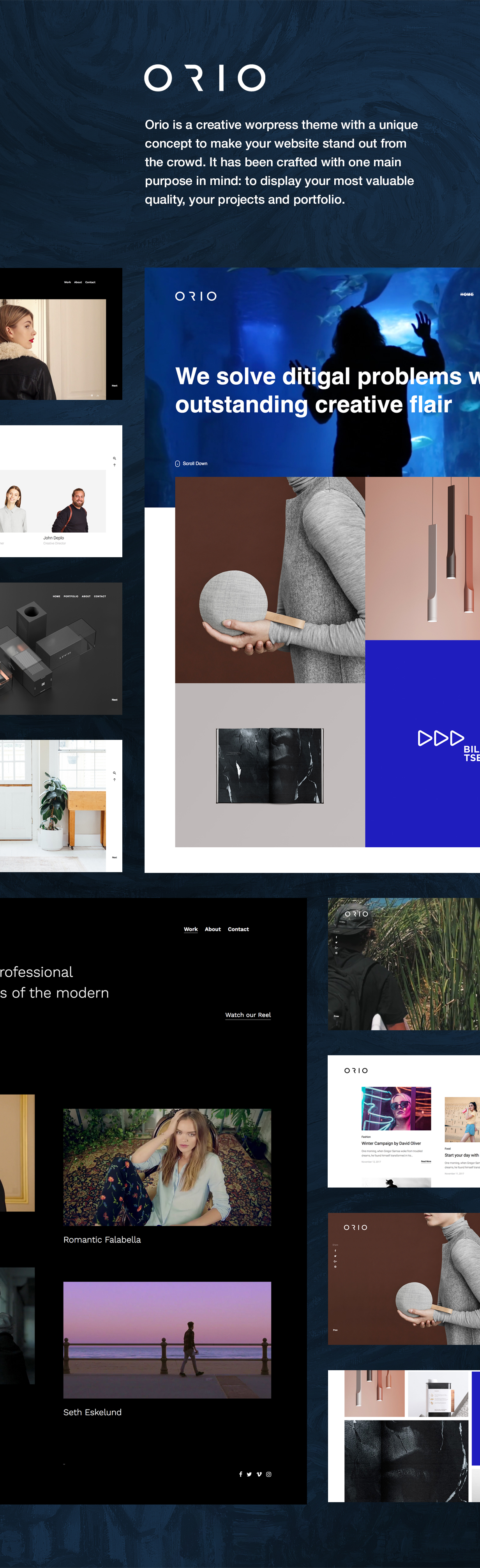 Orio - A creative Portfolio & Agency Theme - 4
