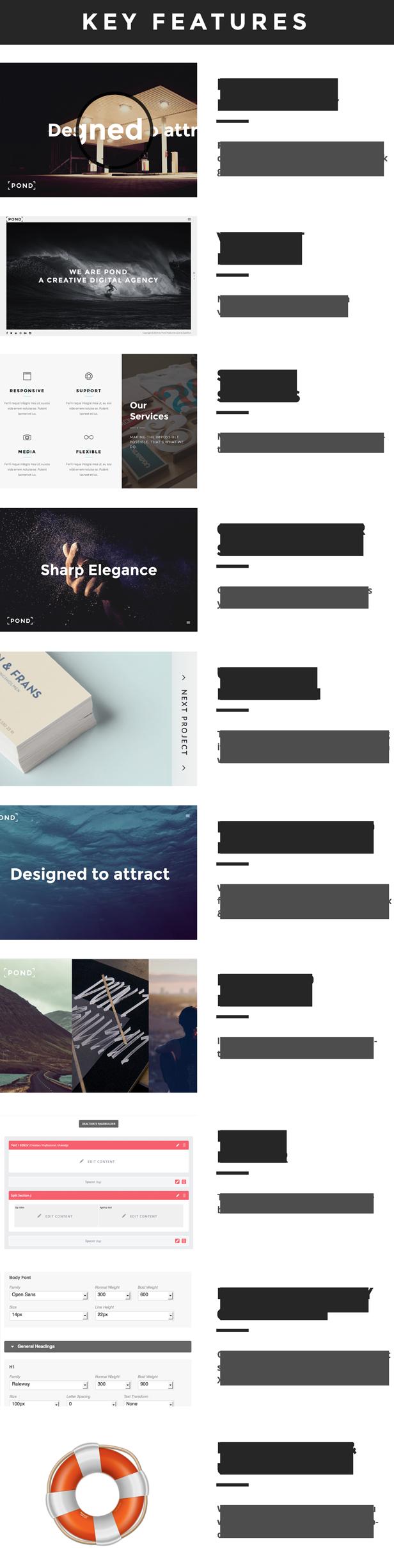 Pond - Creative Portfolio / Agency WordPress Theme - 6