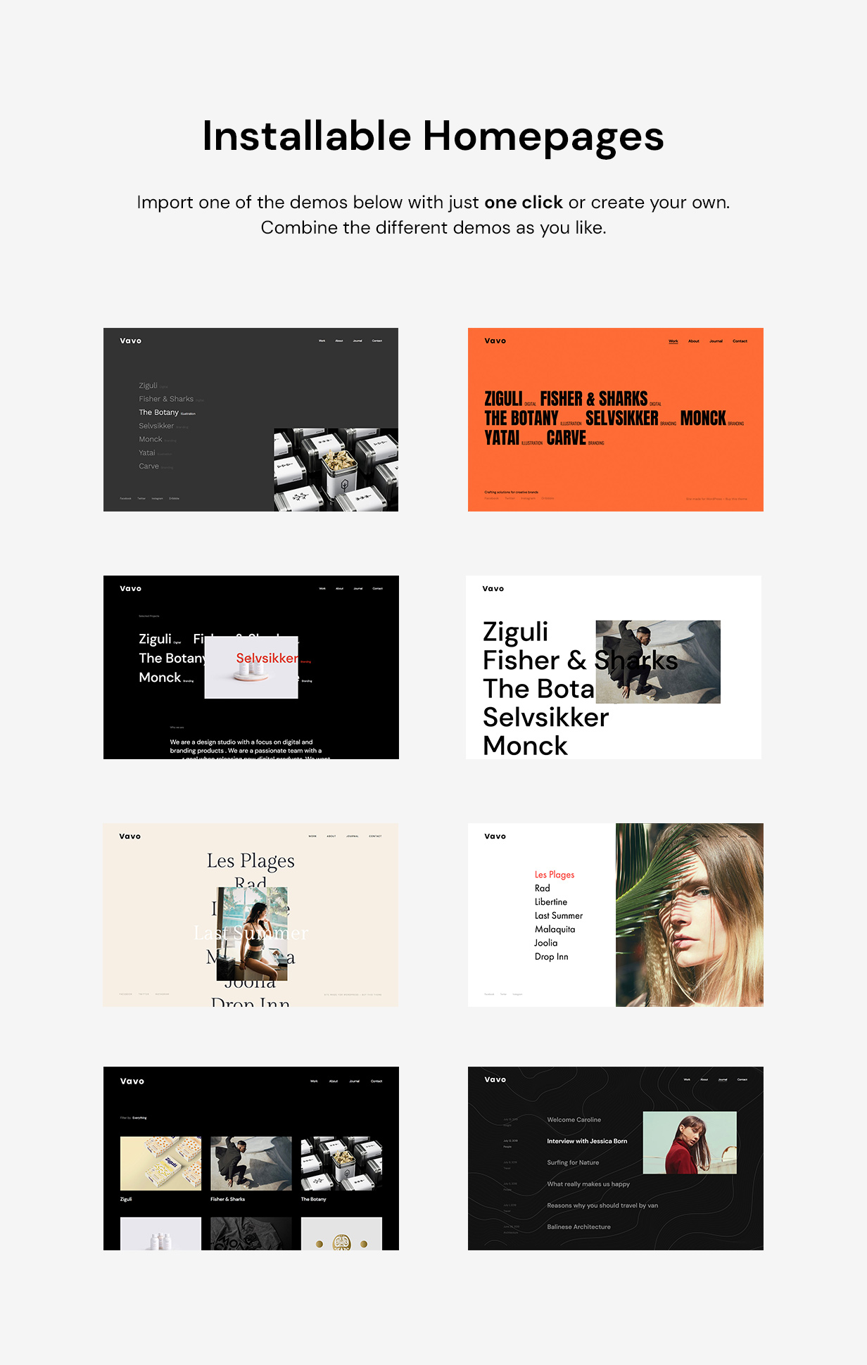 Vavo - An Interactive & Clean Theme for Creatives - 6